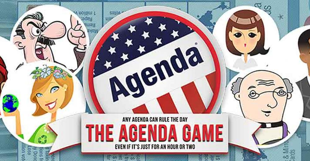 Join The Agenda Game on Facebook